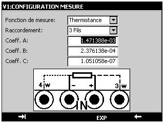 CALYS 150_Mesure de thermistances_FR