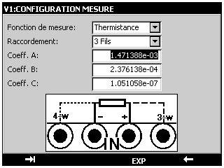 THERMYS 150 - Calibrateur de température / thermomètre étalon 2 voies de haute précision