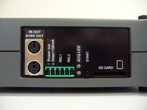 Modules d'acquisition de données rapides avec entrées / sorties numériques, relais et alimentation de capteurs