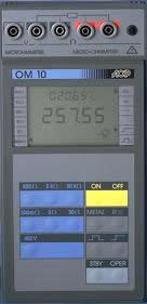 micro-ohmmètre portable