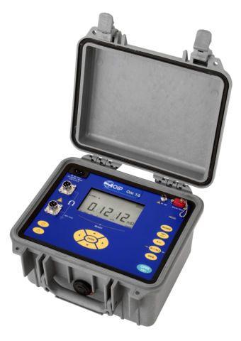 Micro-ohmmètre portable jusqu'à 10 A