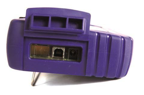 CALYS Face alimentation et connecteur mini-USB