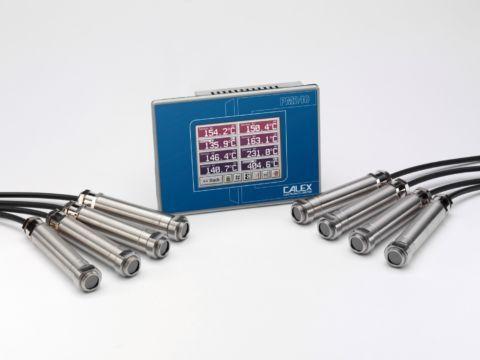 Thermomètre infrarouge de process 8-14 µm, interface Modbus RS485