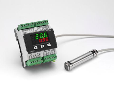 Thermomètre infrarouge de process 8-14 µm avec réglage d'émissivité par option DIGIMAX